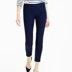 J. Crew Minnie Ankle Pant - Navy